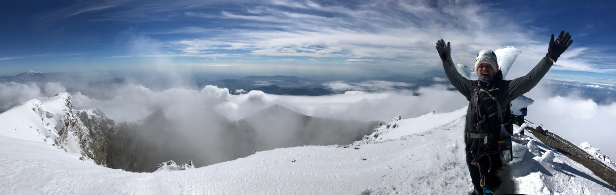 Bergsteigen auf dem Pico deOrizaba