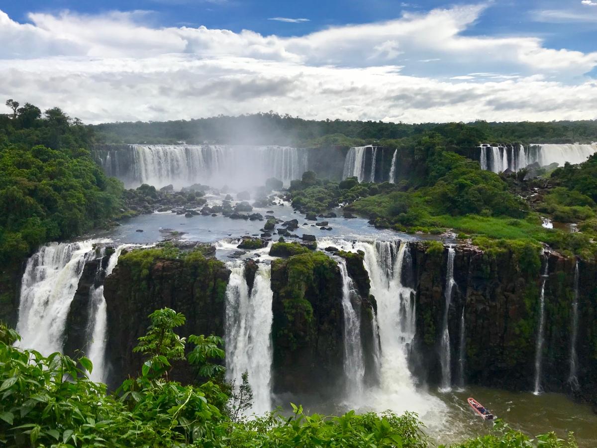 Iguazú Wasserfälle und ItaipúStaudamm